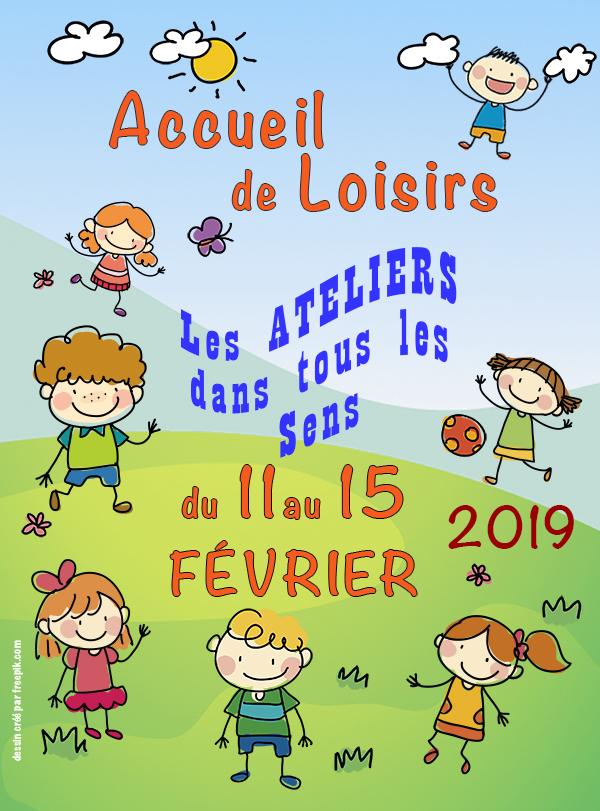 Accueil de Loisirs sans hébergement du 11 au 15 février 2019 - Essômes-sur-Marne