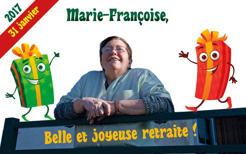 A compter du 31 janvier, Marie-Françoise Klein qui a travaillé pendant plus de trente ans dans les écoles de la commune, a pris sa retraite