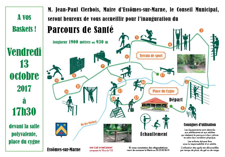 Parcours de santé à Essômes-sur-Marne