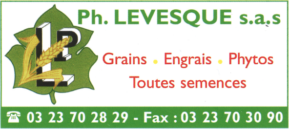 Levesque, grains, engrais, phytos.